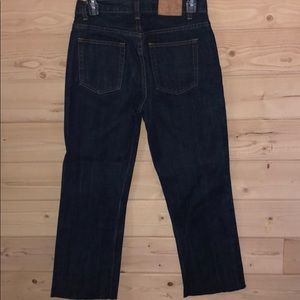 J. Crew Jeans - J. Crew Button-Fly Raw Edge Crop Jeans